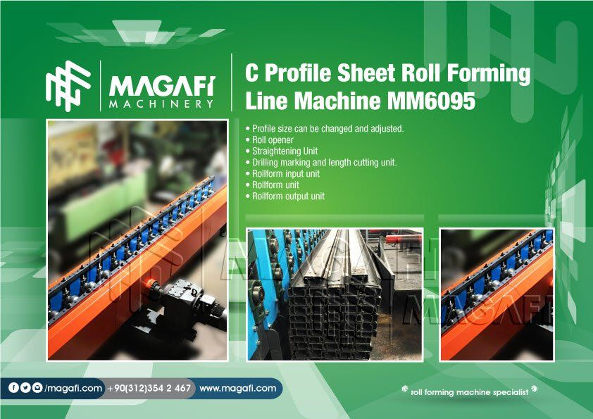 C-Profile-Sheet-Roll-Forming-Line-Machine